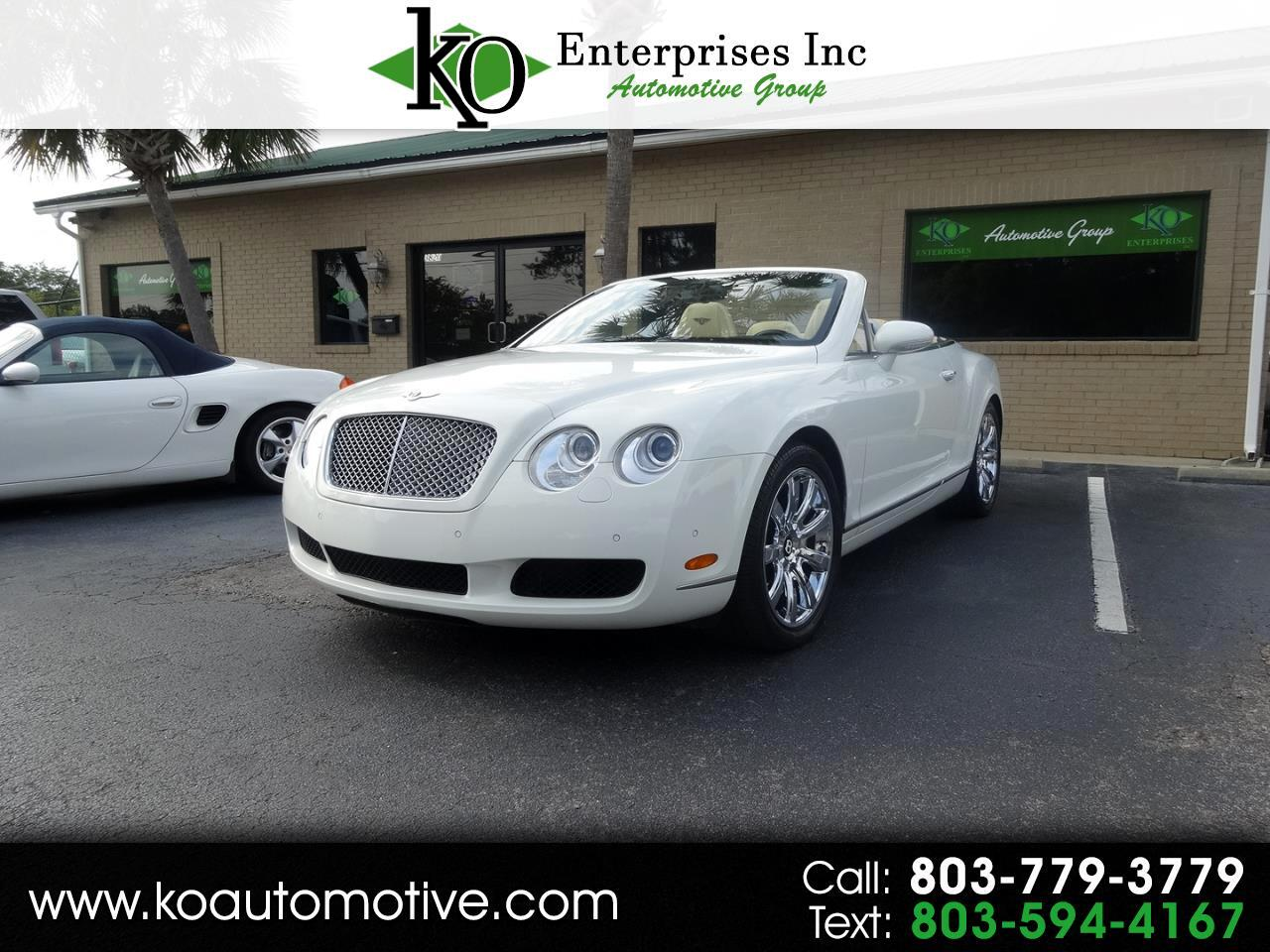 Bentley Continental GT 2dr Conv 2008