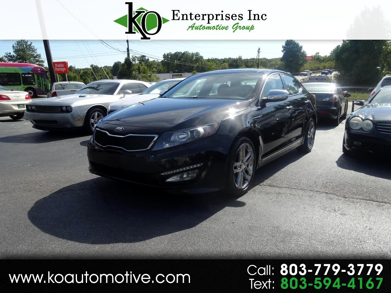 2013 Kia Optima 4dr Sdn SX w/Chrome Limited Pkg
