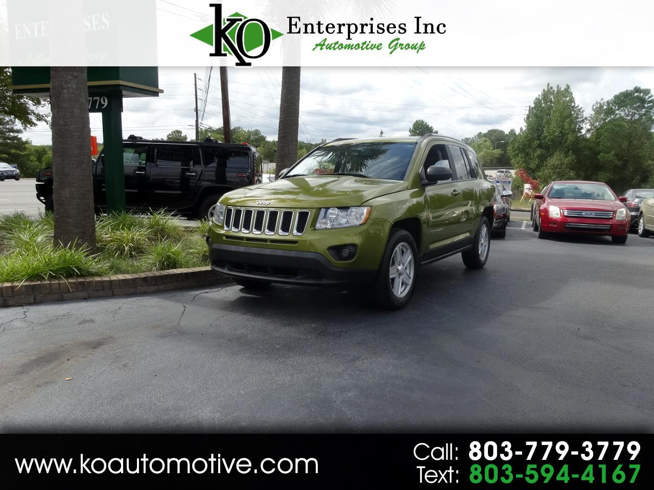 2012 Jeep Compass 4WD 4dr Latitude