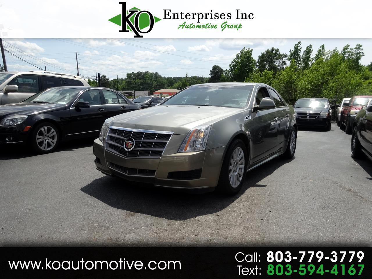 Cadillac CTS Sedan 4dr Sdn 3.0L Luxury RWD 2010