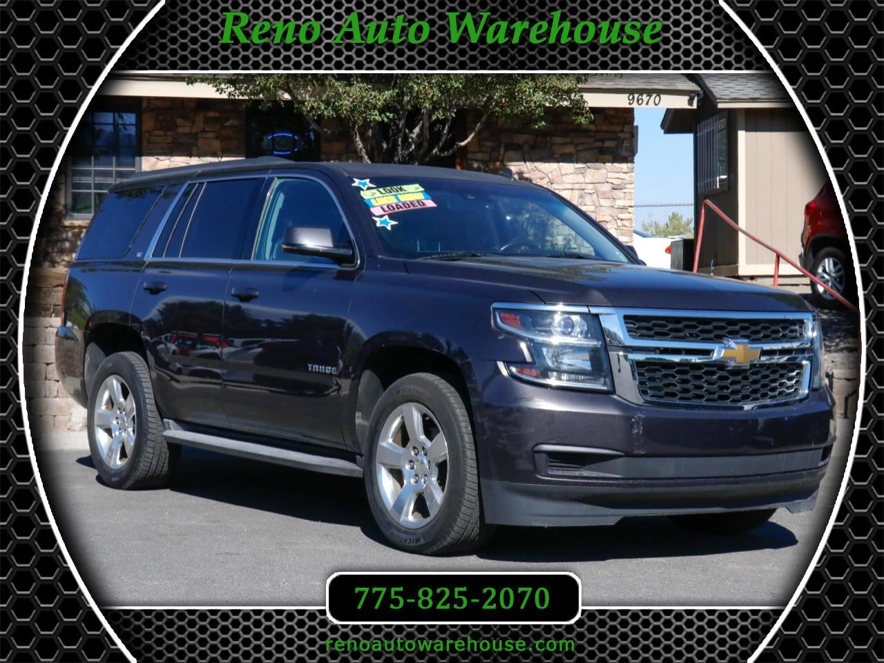 Chevrolet Tahoe 4WD 4dr 1500 LT w/2LT 2015