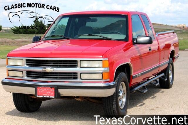 "1996 Chevrolet C/K 2500 HD Ext Cab 155.5"" WB C6P"