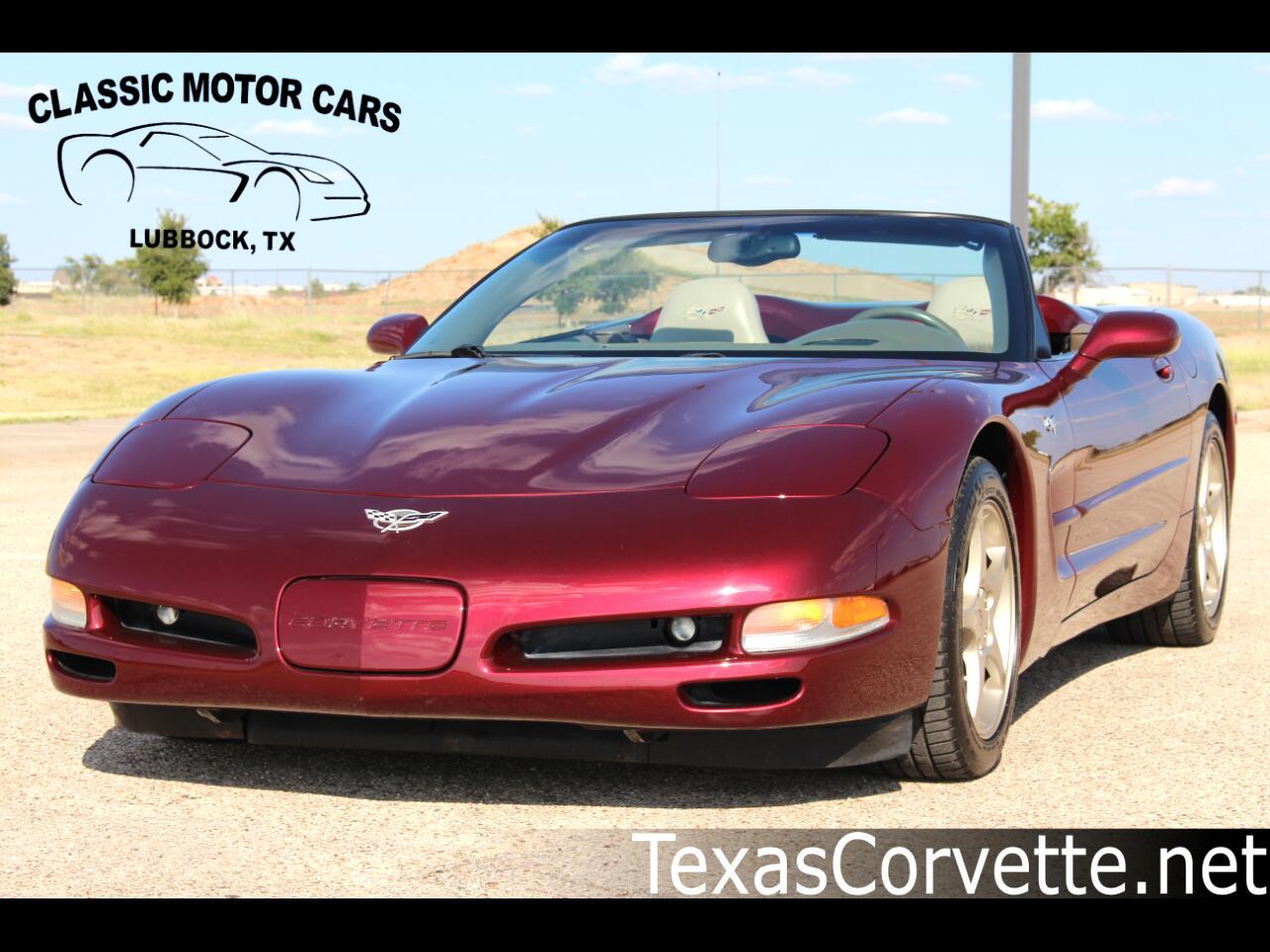 2003 Chevrolet Corvette 2dr Convertible 50th Anniversary