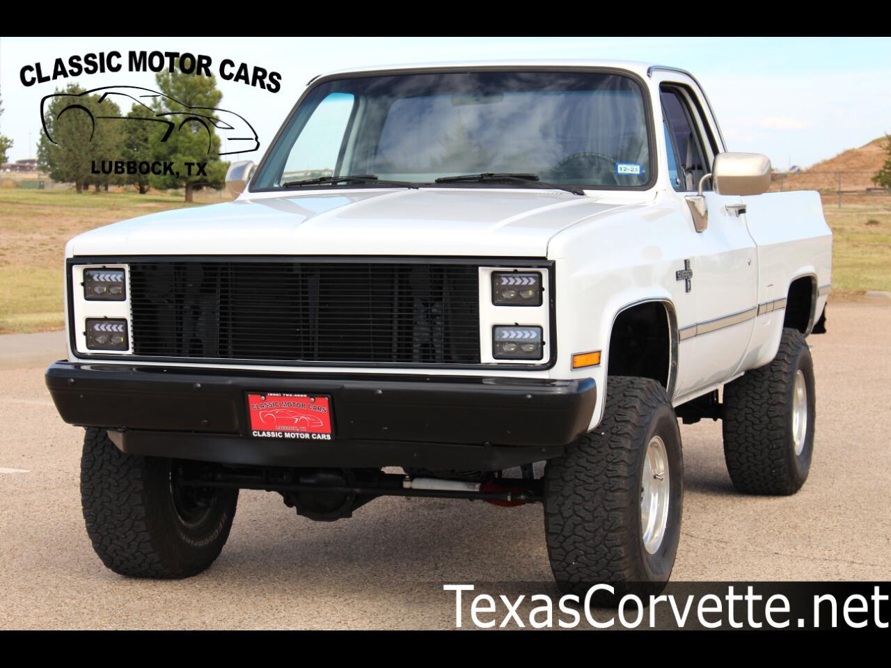 """1985 Chevrolet Pickup K10 Stepside 117.5"""" WB"""