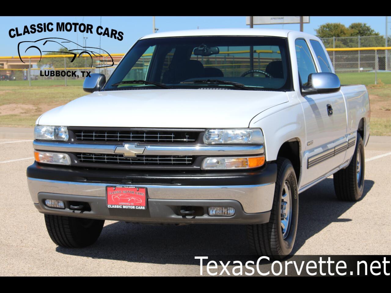 """1999 Chevrolet Silverado 1500 Ext Cab 143.5"""" WB 4WD LS"""