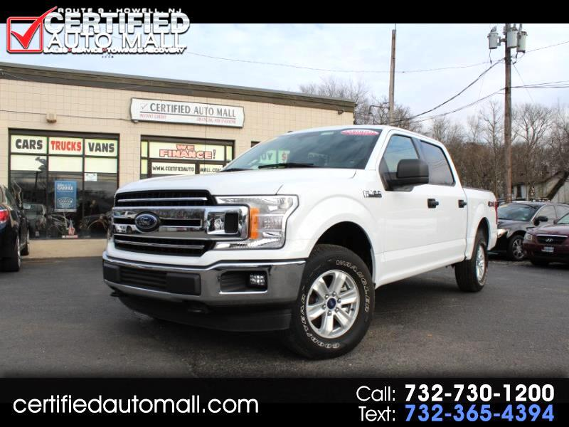 2018 Ford F-150 XLT Super Crew 5.5-ft Bed RWD W/ 4X4