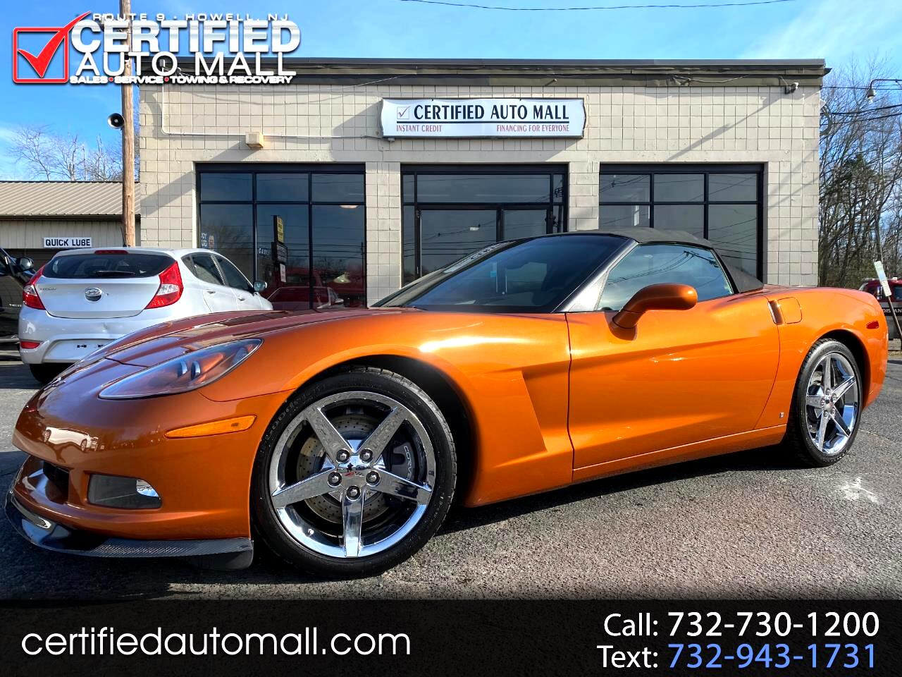 Chevrolet Corvette Z51 3LT Convertible 2007