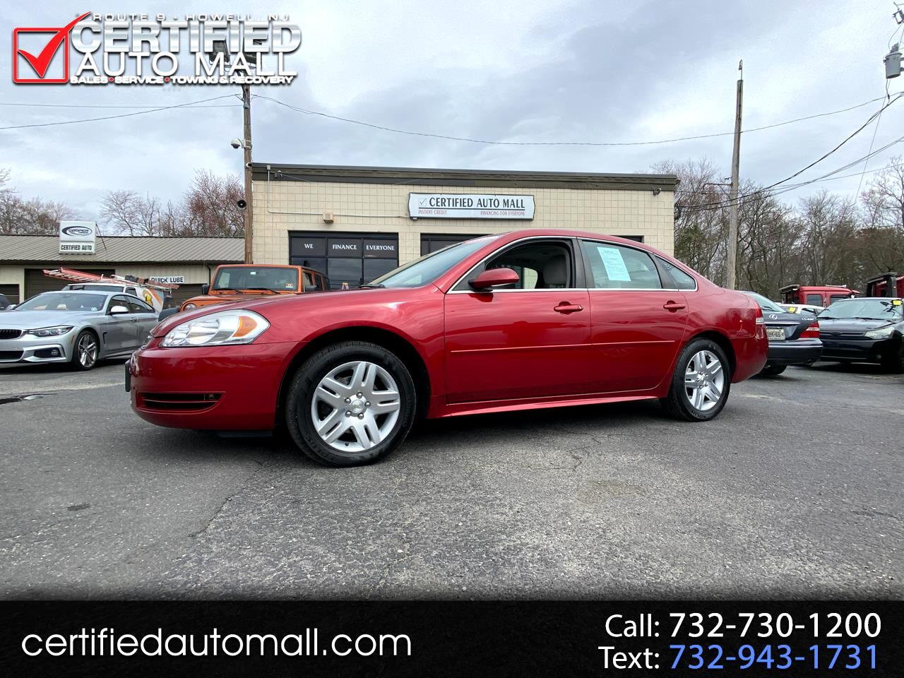Chevrolet Impala Limited 4dr Sdn LT Fleet 2014