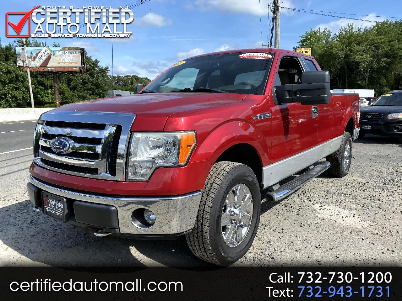 "Ford F-150 4WD SuperCab 145"" Lariat 2009"