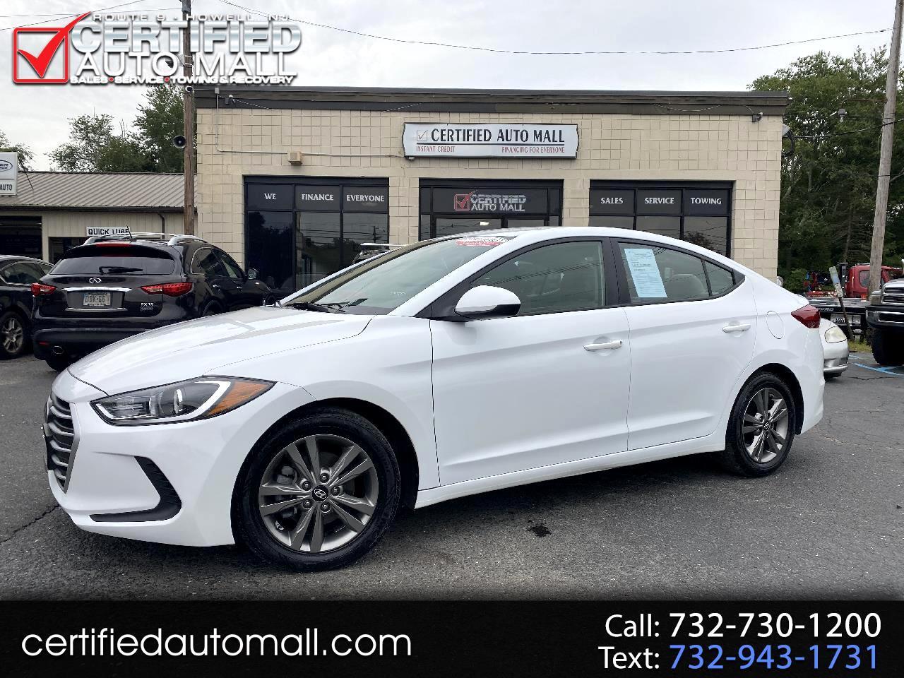 Hyundai Elantra SE 2.0L Auto (Alabama) 2017