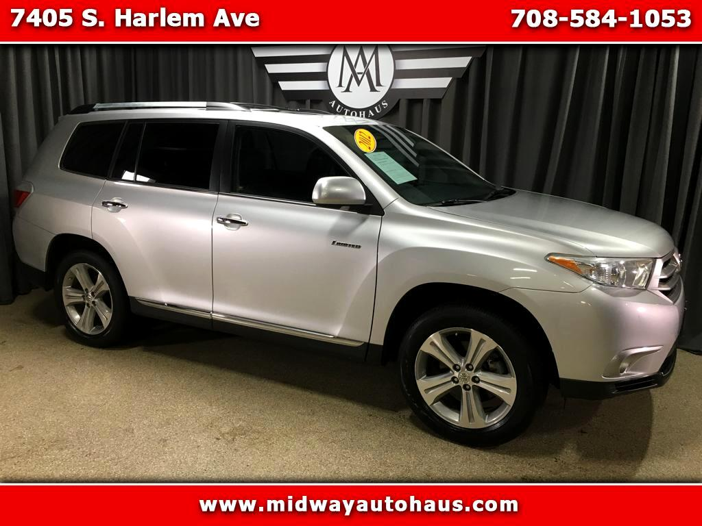 2012 Toyota Highlander Limited AWD V6