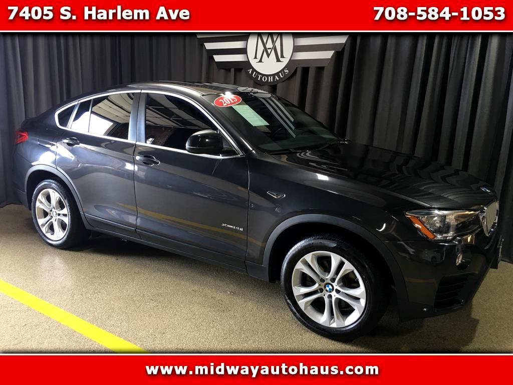 2015 BMW X4 AWD 4dr xDrive28i