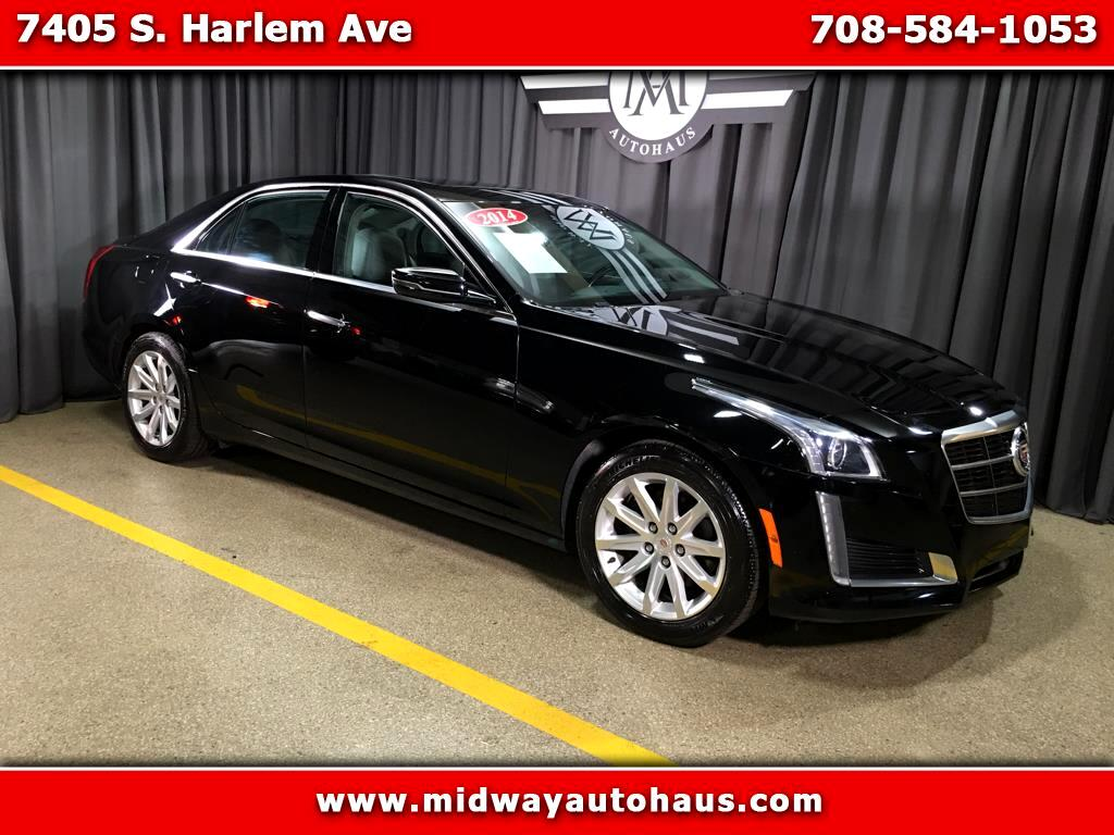 2014 Cadillac CTS 4dr Sdn 2.0L Turbo Luxury AWD