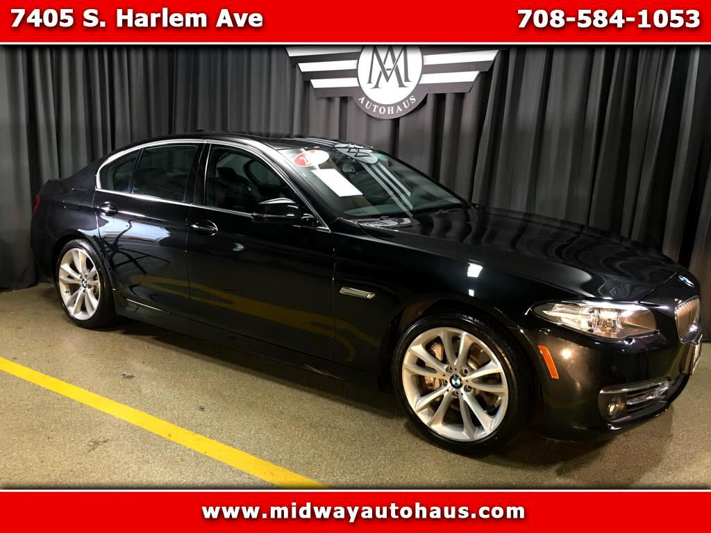 2014 BMW 5 Series 4dr Sdn 535i xDrive AWD