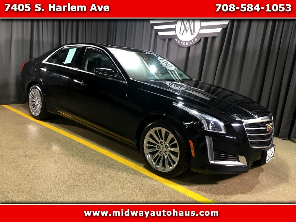 2015 Cadillac CTS 4dr Sdn 2.0L Turbo Luxury AWD