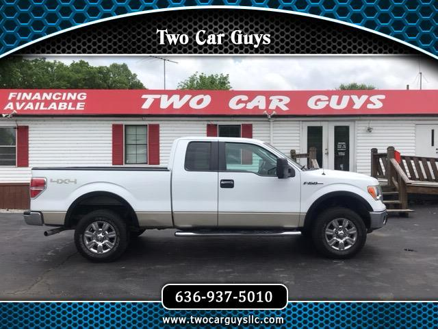 "2009 Ford F-150 4WD SuperCab 163"" XLT"