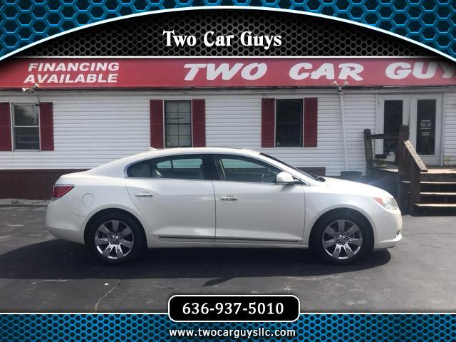 2011 Buick LaCrosse 4dr Sdn CXL 3.0L AWD