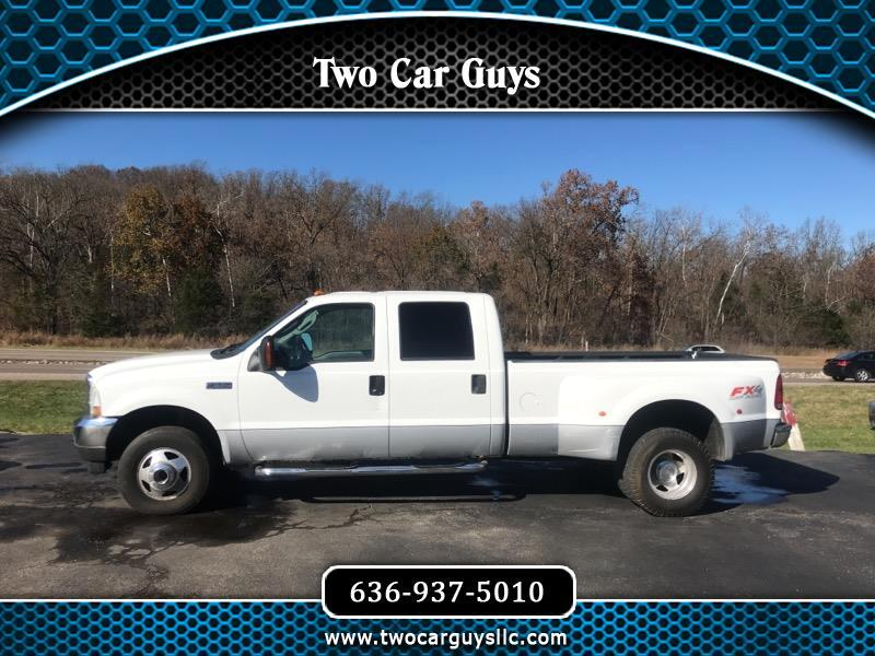 2003 Ford F-350 SD XLT Crew Cab Long Bed 4WD DRW