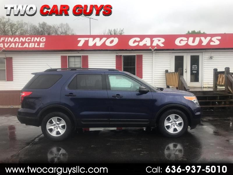 2011 Ford Explorer 2dr 102