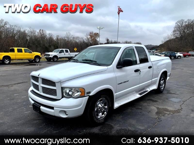 2003 Dodge Ram 2500 Laramie Quad Cab Short Bed 2WD