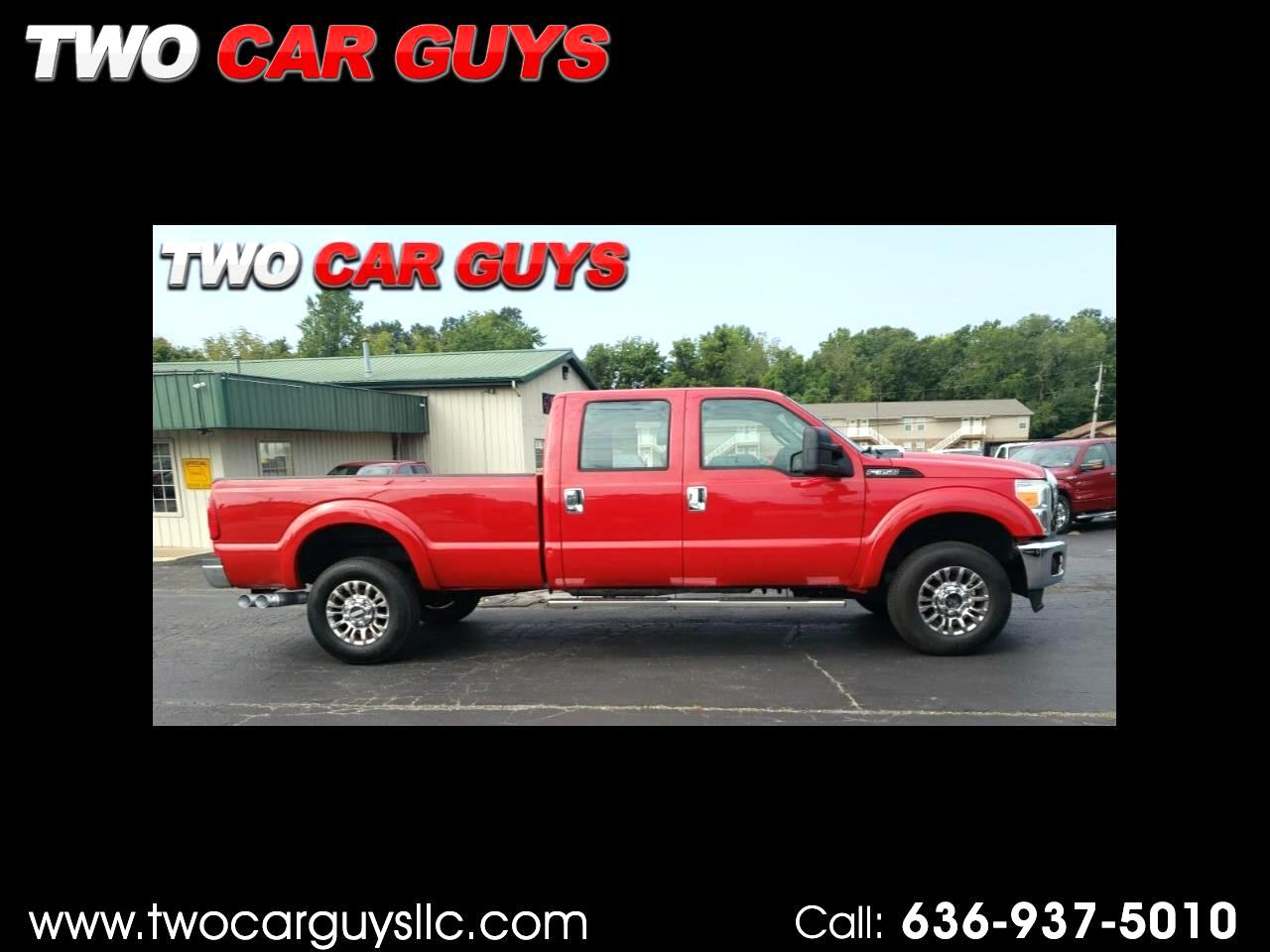 Ford F-350 SD XL Crew Cab Long Bed 4WD 2011