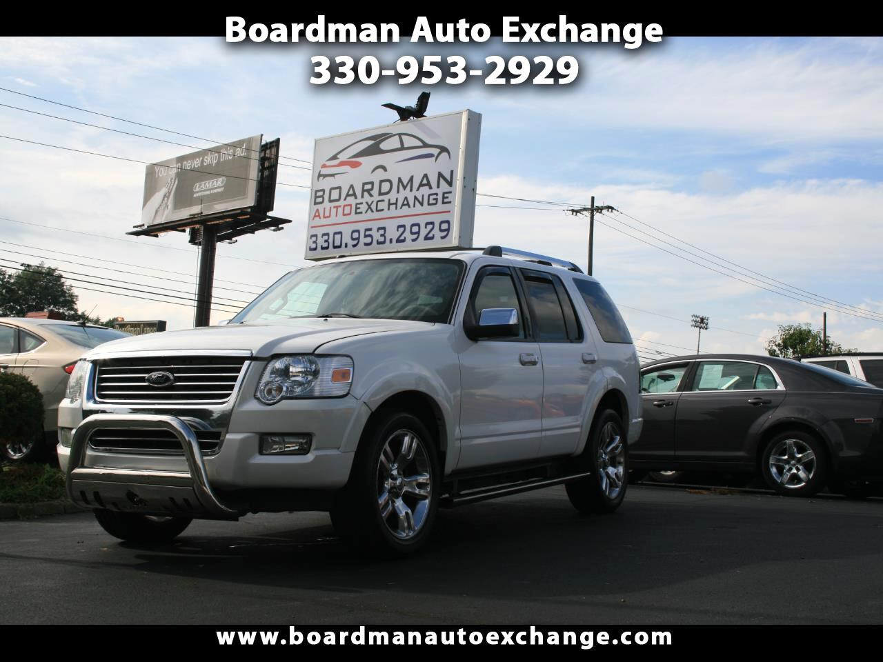 Ford Explorer AWD 4dr Limited 2010