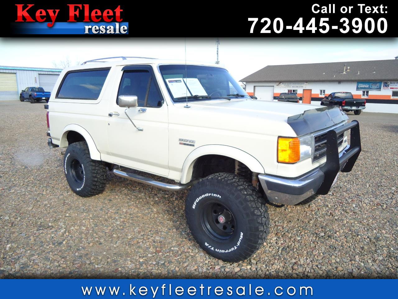 1988 Ford Bronco 2dr Wagon