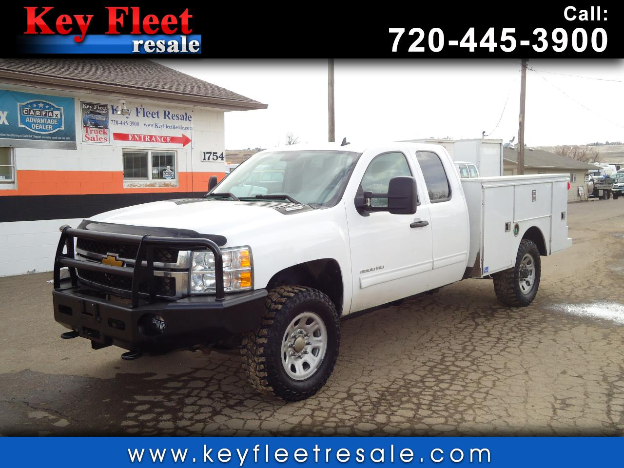 2012 Chevrolet Silverado 3500HD 4wd Ext Cab Utility Body