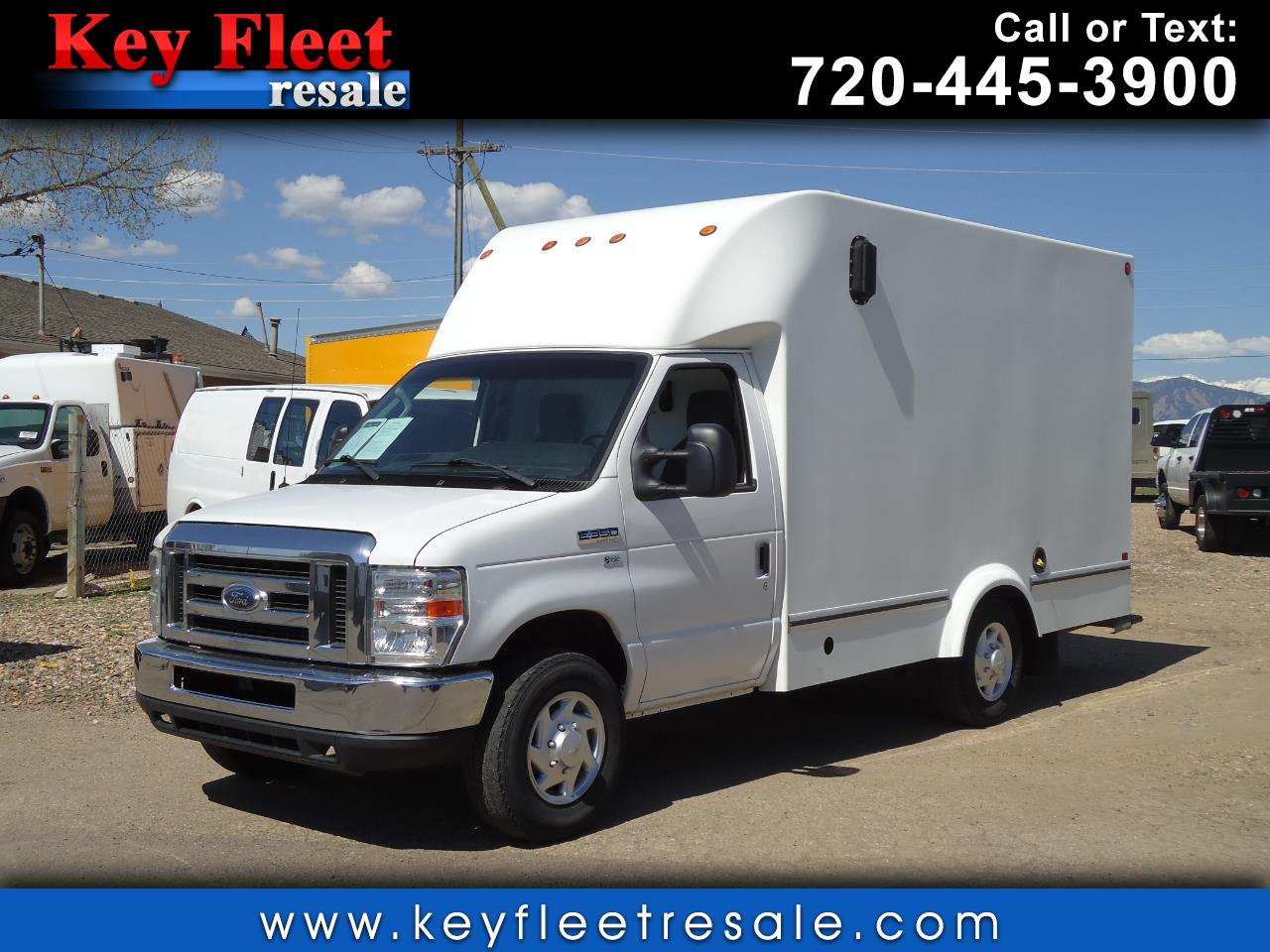 2012 Ford Econoline Commercial Cutaway E-350 12 Foot Box Truck
