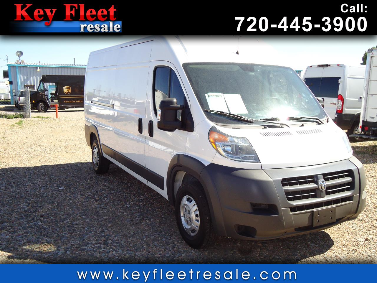 2014 RAM ProMaster Cargo Van 2500 High Roof 159