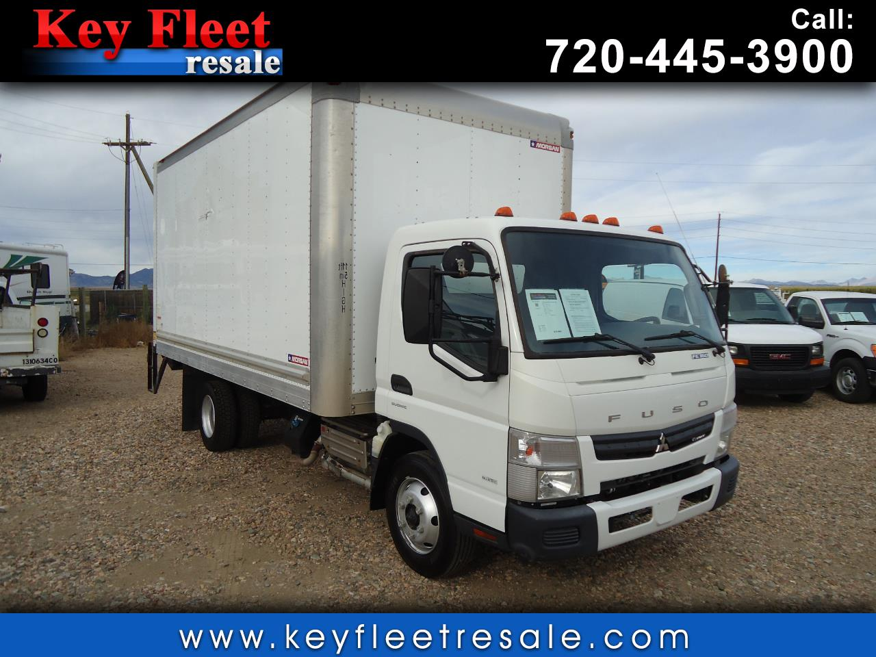 2015 Mitsubishi Fuso FE 16 Foot Box with Liftgate