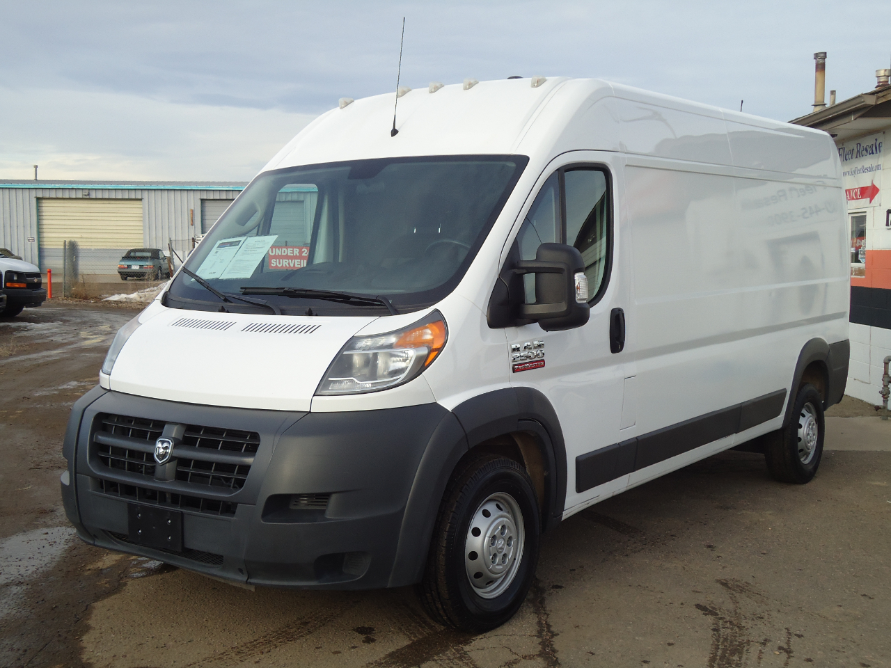 RAM Promaster 2500 High Roof Tradesman 159-in. WB 2018