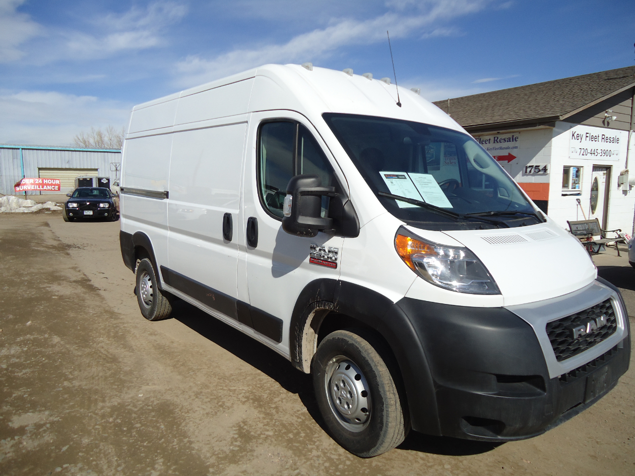 RAM Promaster 2500 High Roof Tradesman 136-in. WB 2019