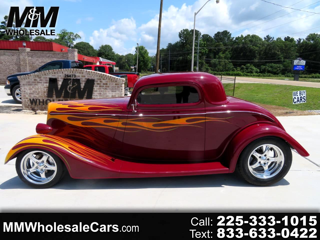 Ford Coupe 3 Window Coupe 1934