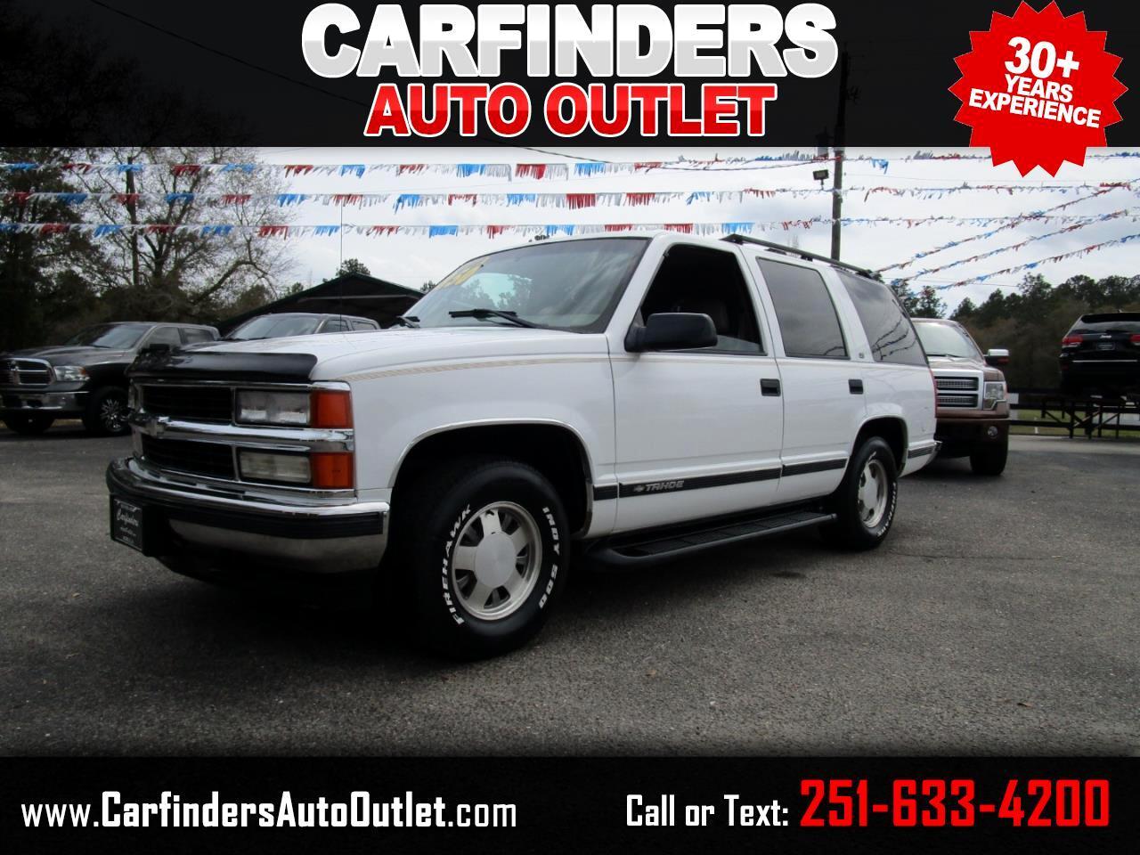 Chevrolet Tahoe 4dr 1999