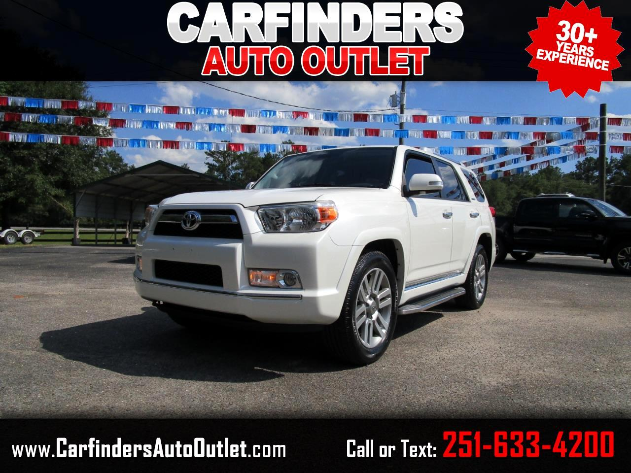 Toyota 4Runner RWD 4dr V6 Limited (Natl) 2013
