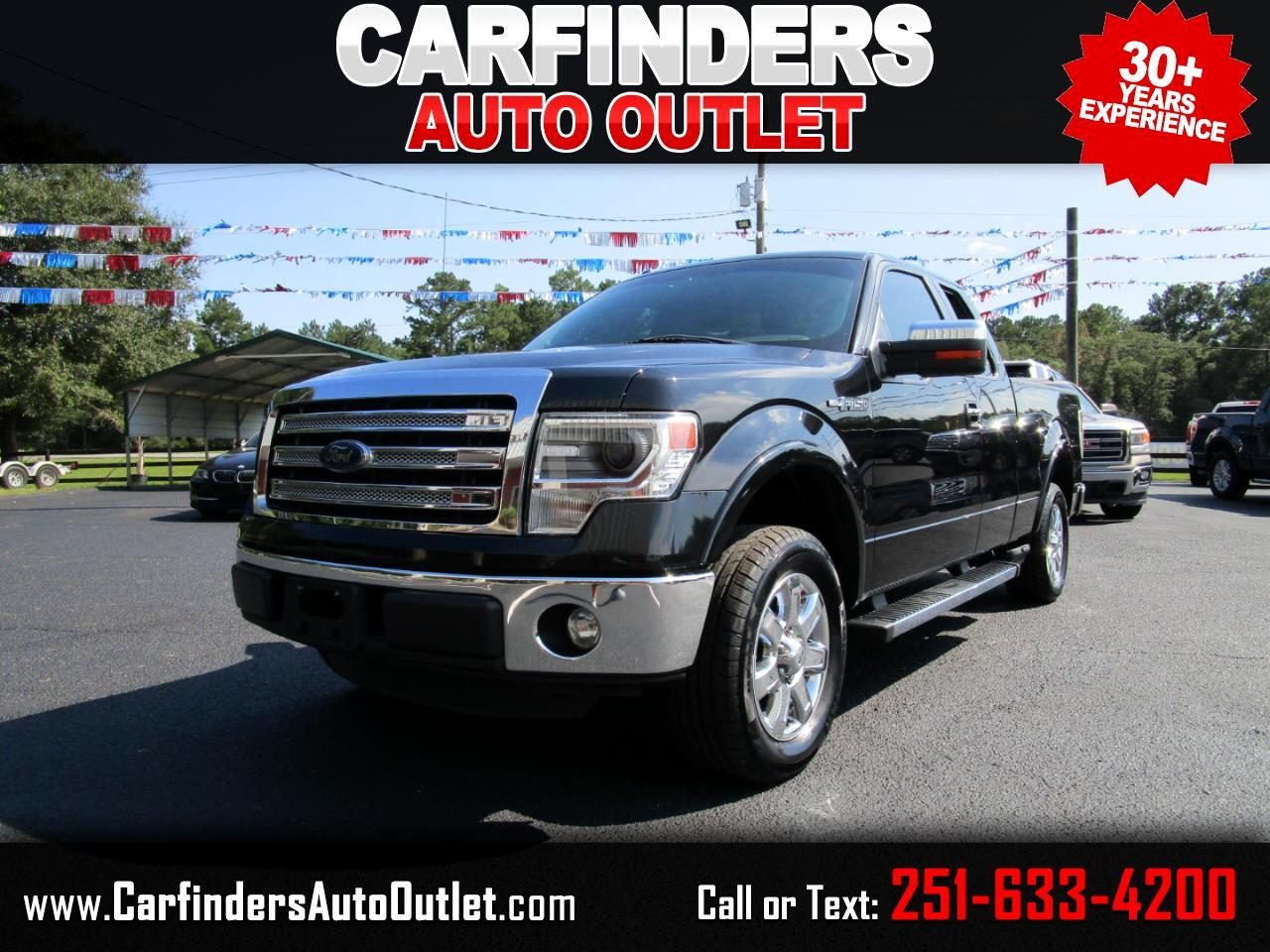 "Ford F-150 2WD SuperCab 145"" Lariat 2014"