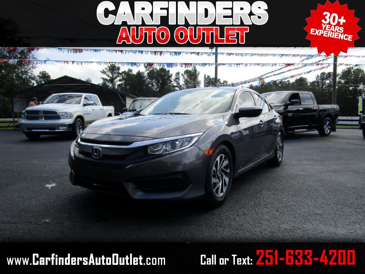 Honda Civic Sedan EX CVT 2018