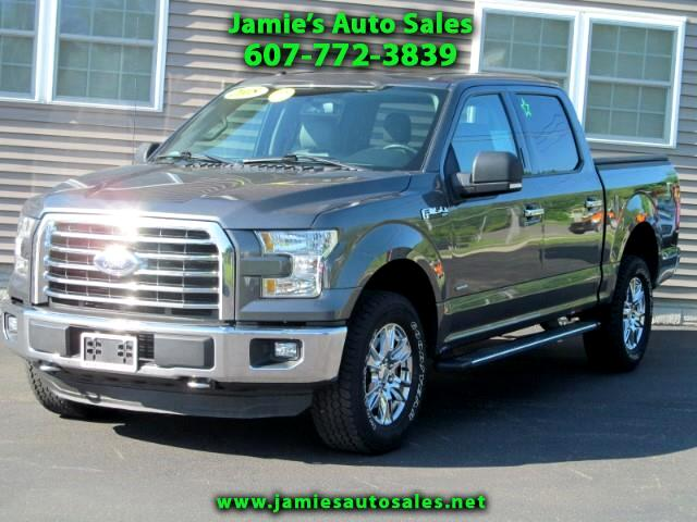 2015 Ford F-150 XLT FX4 SuperCrew 5.5-ft. Bed 4WD