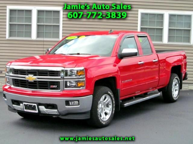 2015 Chevrolet Silverado 1500 2LT Double Cab 4WD Z71 Off-Road, Allstar & LT Plus