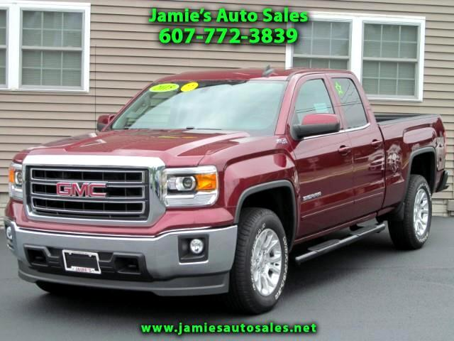 2015 GMC Sierra 1500 SLE Double Cab 4WD Z71 Off-Road w/SLE Value Pkg