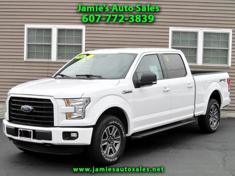 2015 Ford F-150 XLT Sport Supercrew 6.5' Bed 4WD