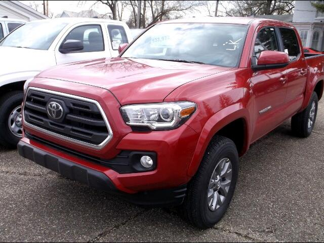 2018 Toyota Tacoma SR5 Double Cab Long Bed V6 6AT 4WD