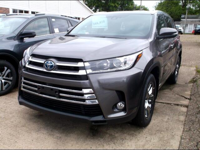 2018 Toyota Highlander Hybrid Limited Platinum AWD