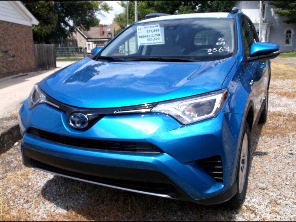 2018 Toyota RAV4 Hybrid LE AWD (Natl)