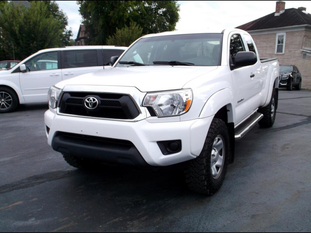 2012 Toyota Tacoma 4WD Access Cab I4 MT (Natl)