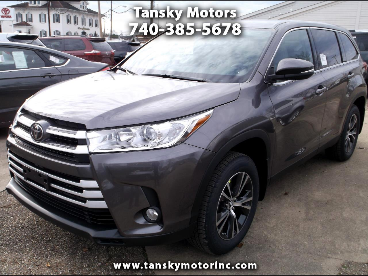 2019 Toyota Highlander AWD 4dr V6 LE Plus (Natl)