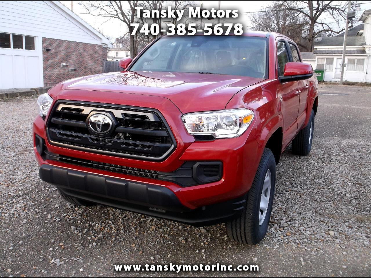 2019 Toyota Tacoma 4WD SR Double Cab 5' Bed V6 AT (Natl)