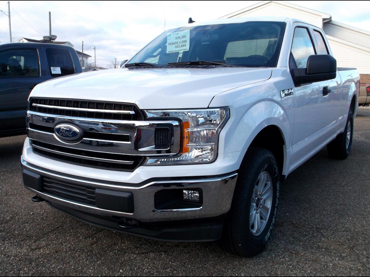 Ford F-150 XLT 4WD SuperCab 6.5' Box 2019