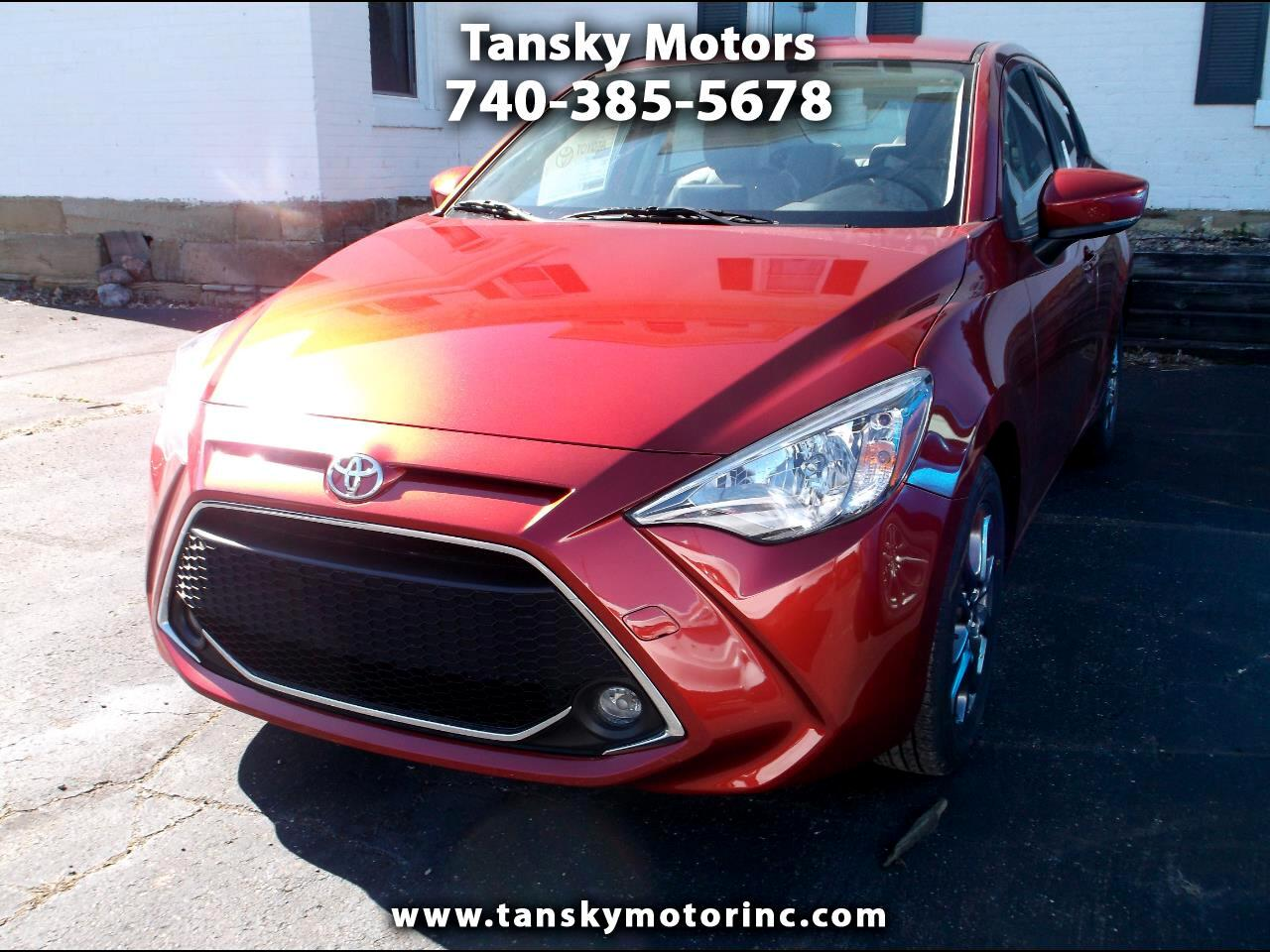 2019 Toyota Yaris Sedan 4-Door LE Auto (Natl)